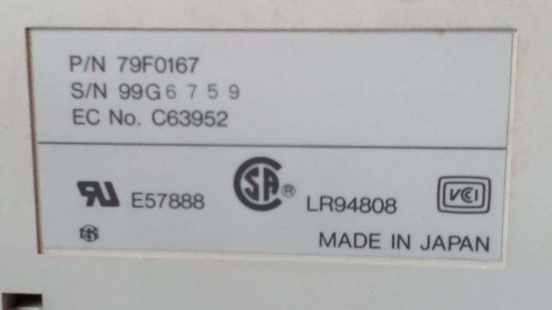 IBM鍵盤(キーボード)5576-A01(79F0167)_画像4