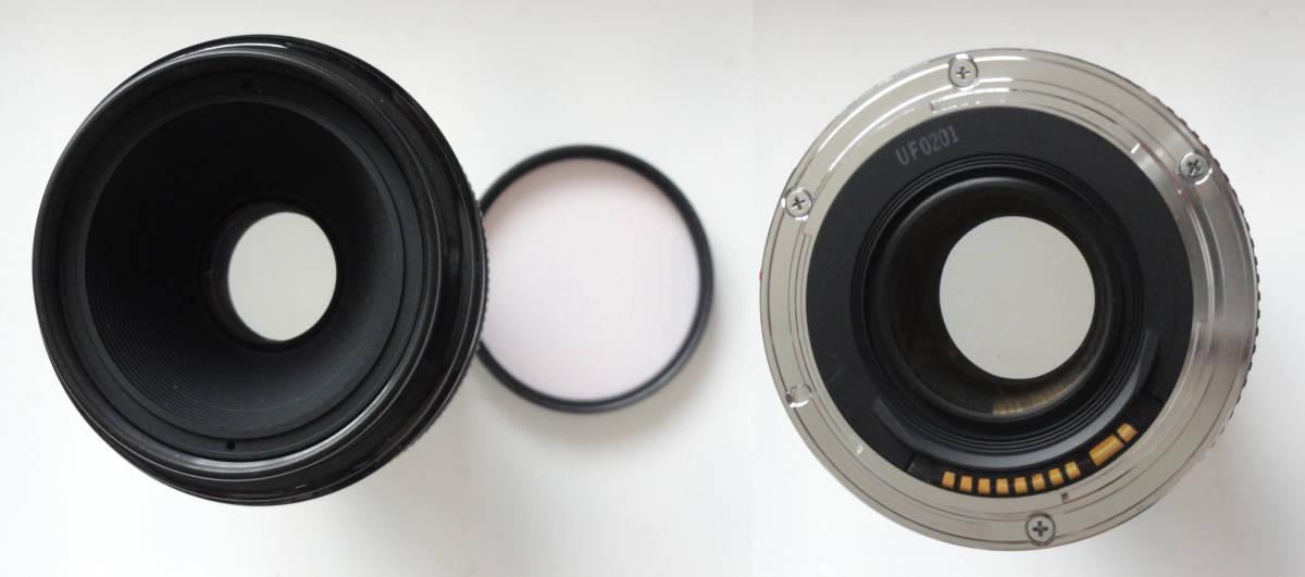 綺麗な状態のペリクルミラー搭載の最高機種キヤノンEOS1-n RSとキヤノンEF50mmF2.5マクロレンズ付き_画像8
