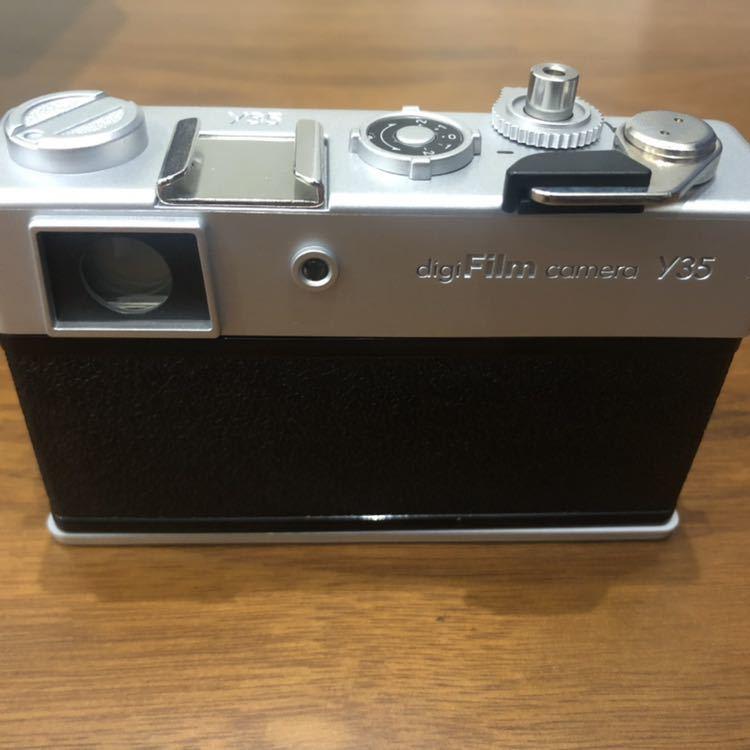 YASHICA ヤシカ digiFilm camera Y35 フィルムカメラ風デジタルカメラ デジフィルム7点セット_画像6