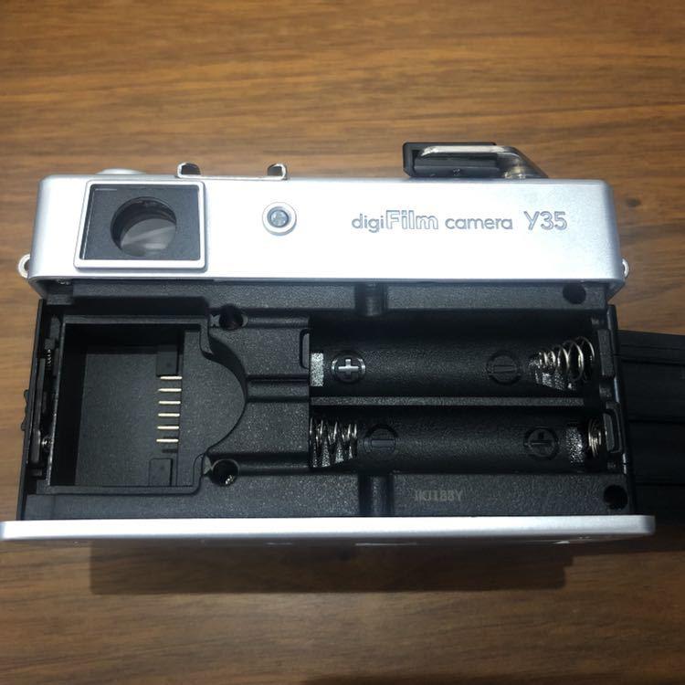 YASHICA ヤシカ digiFilm camera Y35 フィルムカメラ風デジタルカメラ デジフィルム7点セット_画像7