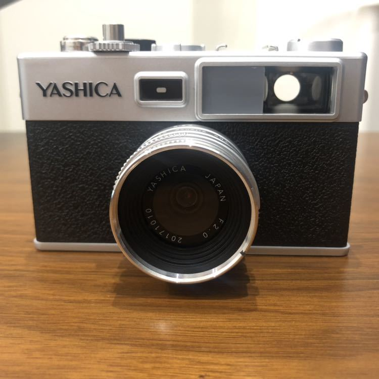 YASHICA ヤシカ digiFilm camera Y35 フィルムカメラ風デジタルカメラ デジフィルム7点セット_画像4