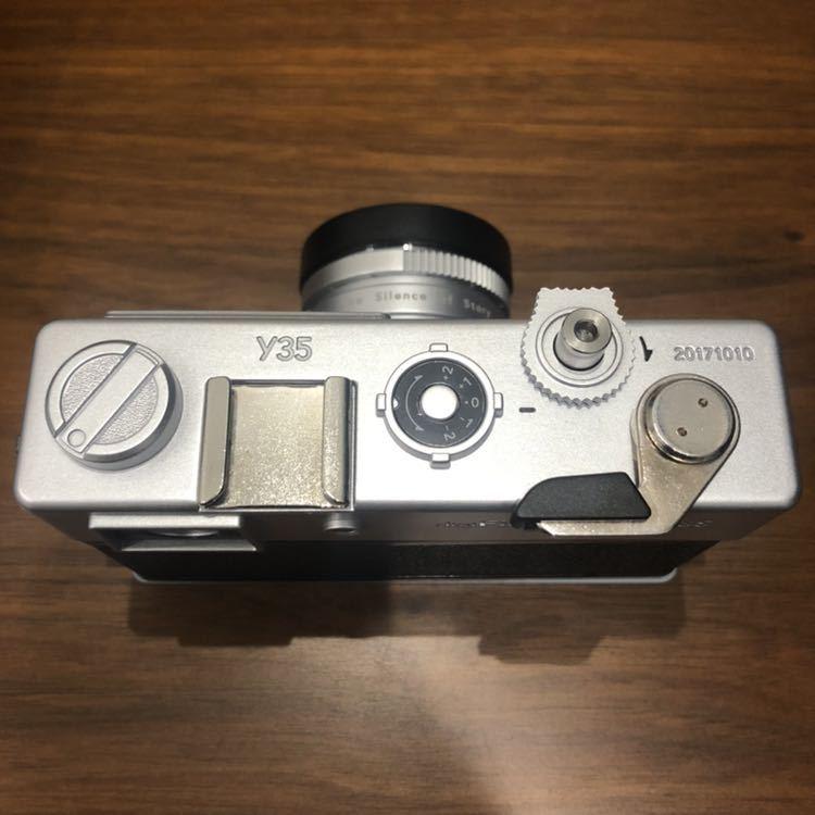 YASHICA ヤシカ digiFilm camera Y35 フィルムカメラ風デジタルカメラ デジフィルム7点セット_画像5