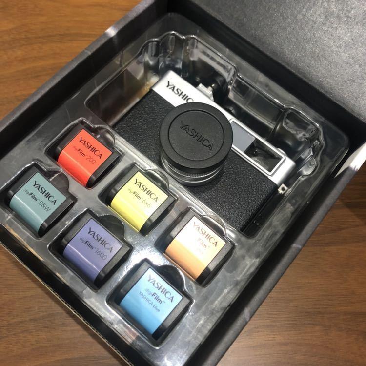 YASHICA ヤシカ digiFilm camera Y35 フィルムカメラ風デジタルカメラ デジフィルム7点セット