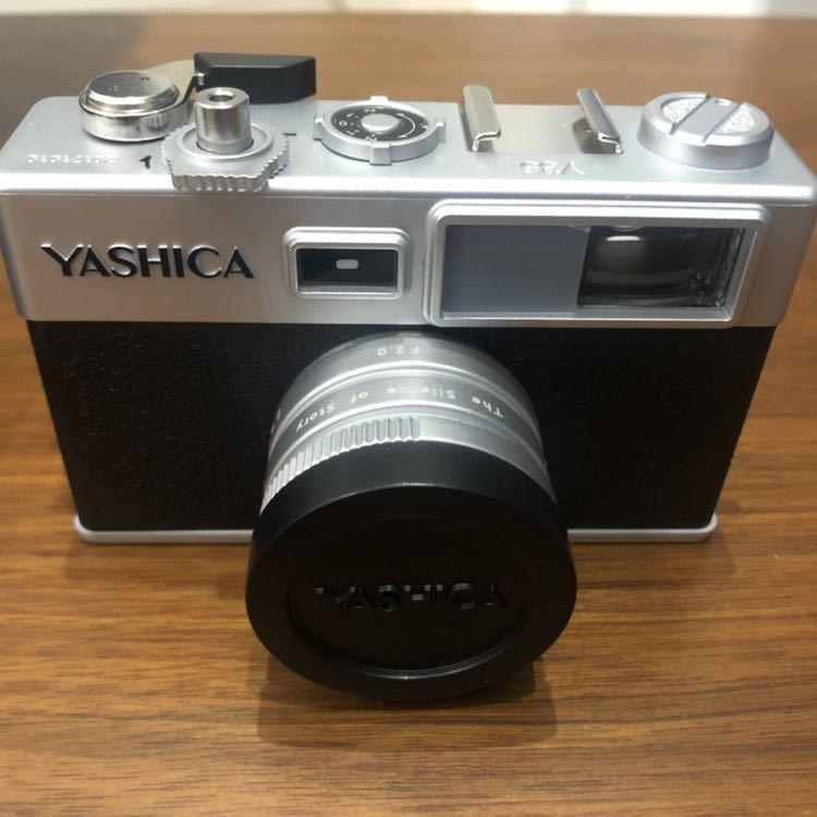 YASHICA ヤシカ digiFilm camera Y35 フィルムカメラ風デジタルカメラ デジフィルム7点セット_画像3