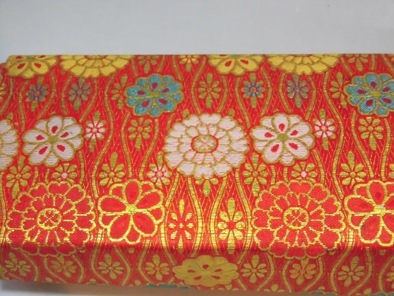 ★華道、生け花、花はさみ他7点持ち運び絹織物ケース付き 生け花用具 職人道具_画像10