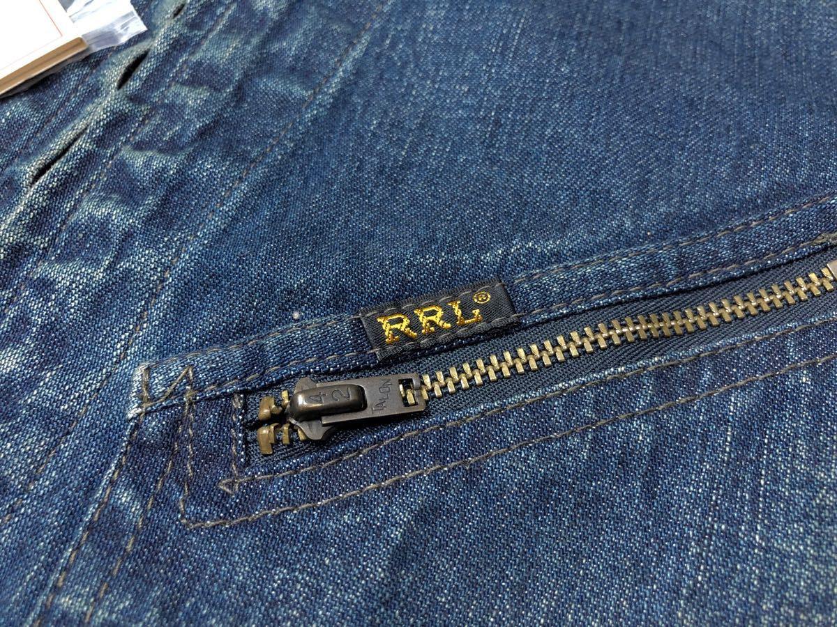 新品タグ付き!!RRL Leeサンプリング デニムジャケット LIMITED Levi's ビンテージ 1点のみ POLO ラルフ ロンハーマン_画像5