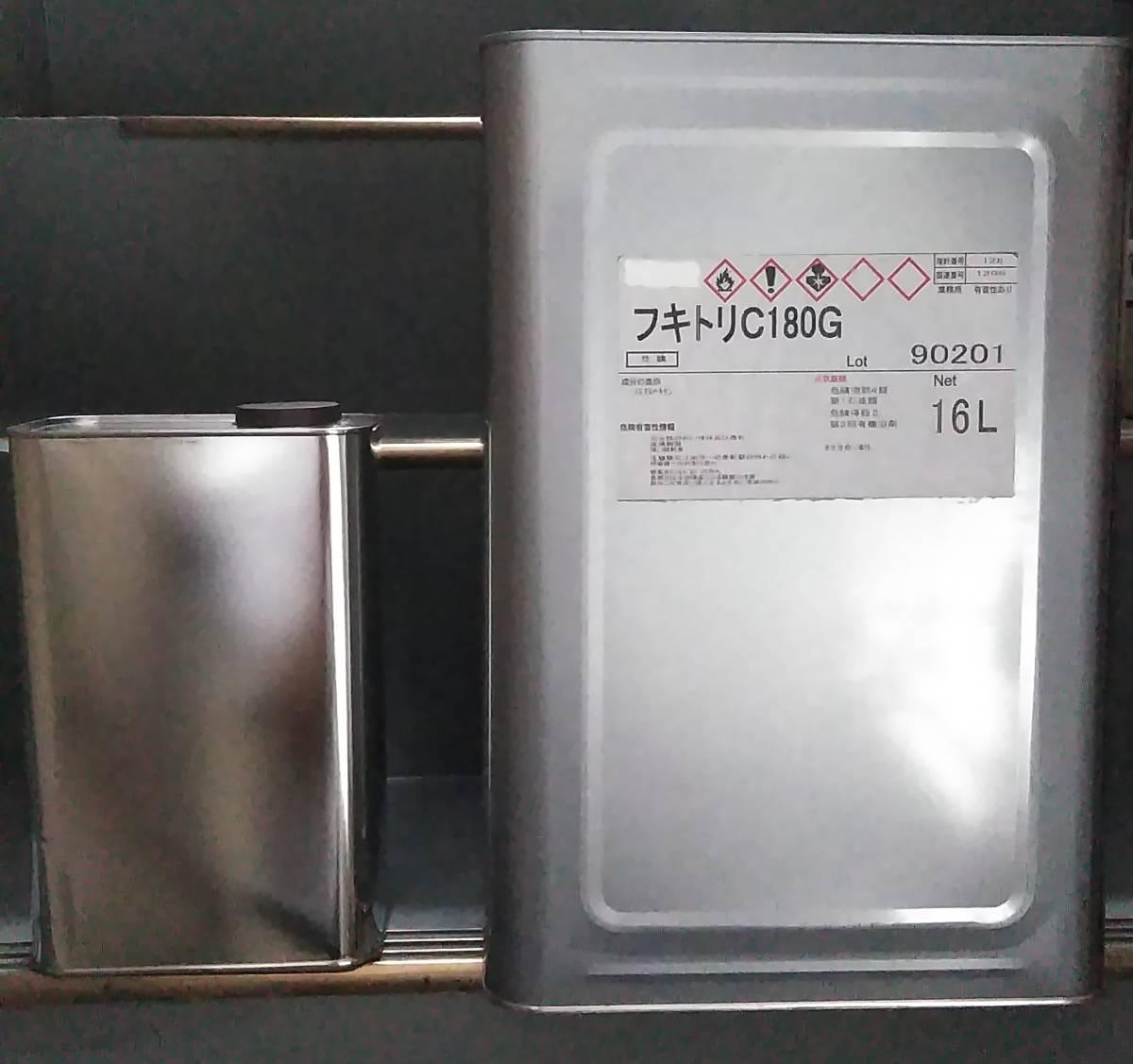 送料込み 小分け ゴム系溶剤型接着剤用シンナー 「拭き取りシンナー NTX 小缶2L」アイカ コニシ_1斗缶から2Lに小分けします
