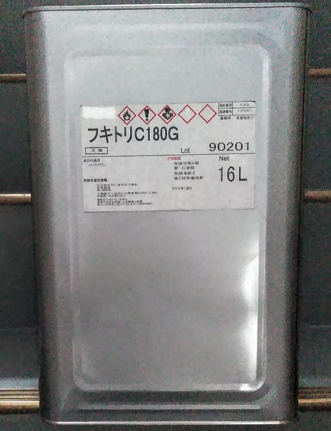 送料込み ゴム系溶剤型接着剤用シンナー「拭き取りシンナー NTX 16L」アイカ コニシ_画像1