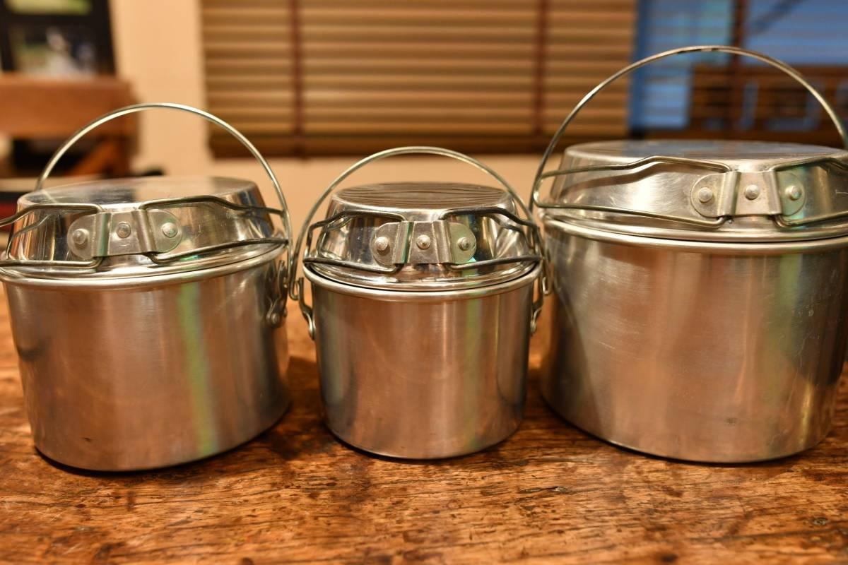 激レア! ホットン社製 ブルドッグ ブランド ビリーカン ビリー缶 MADE IN UK  焚き火 ツーリング ブッシュクラフト