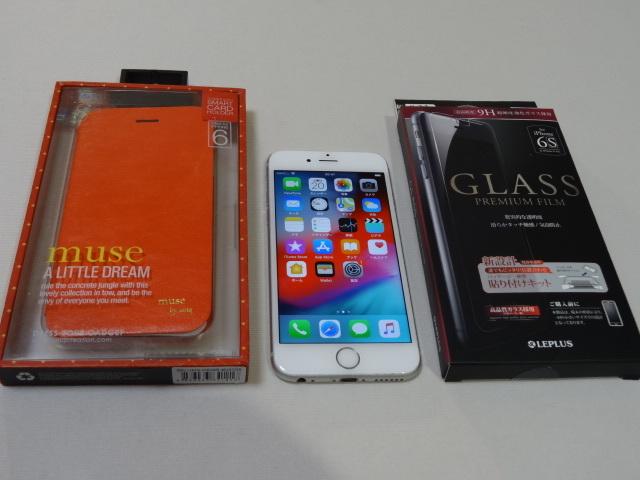 【豪華おまけ付】au iPhone6s 128GB 大容量 バッテリー良好 1円スタ 判定〇_画像2
