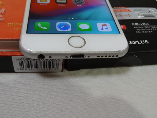 【豪華おまけ付】au iPhone6s 128GB 大容量 バッテリー良好 1円スタ 判定〇_画像3