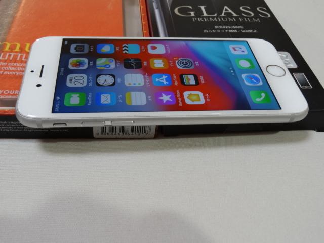 【豪華おまけ付】au iPhone6s 128GB 大容量 バッテリー良好 1円スタ 判定〇_画像4