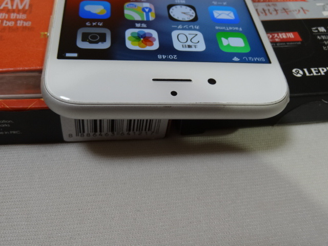 【豪華おまけ付】au iPhone6s 128GB 大容量 バッテリー良好 1円スタ 判定〇_画像5