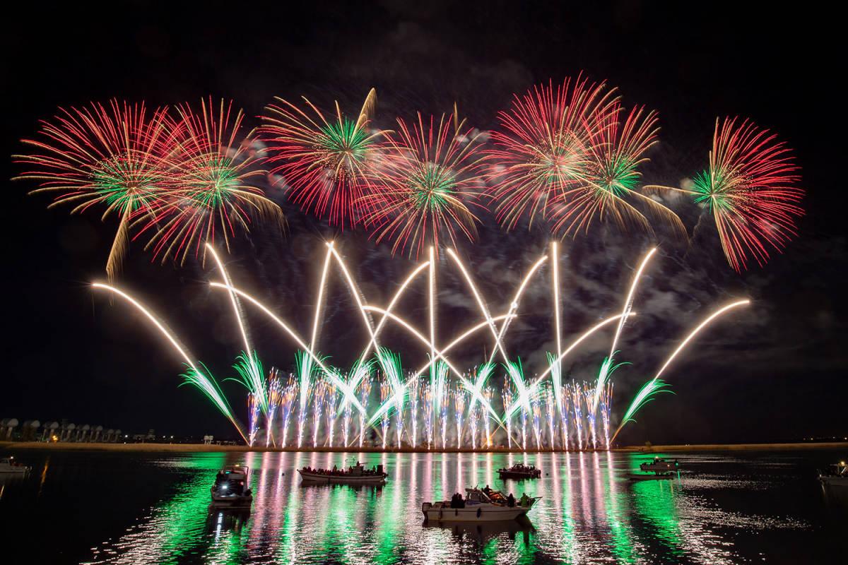 7月27日 桑名水郷花火大会 一般ご招待券(個人協賛席) 1枚_画像2