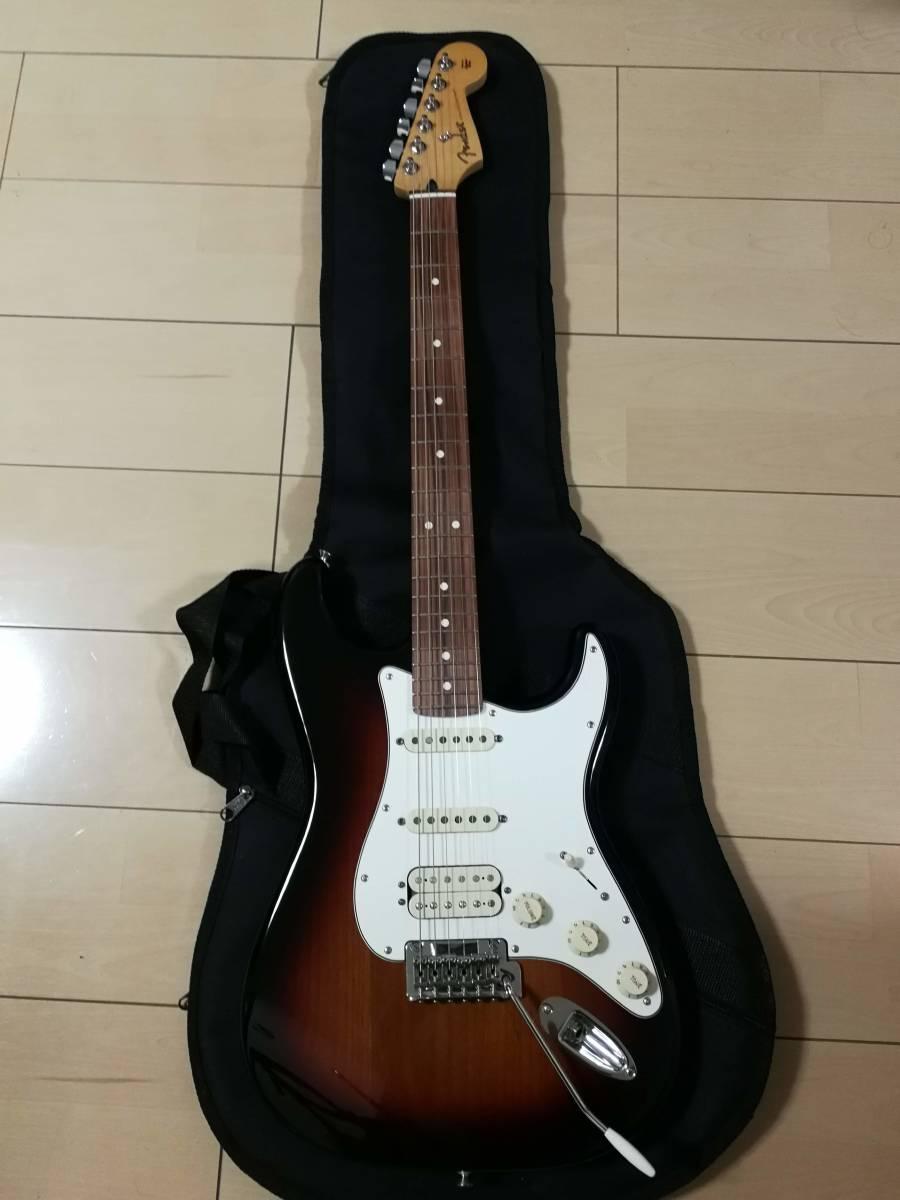 fender player stratocaster 3TS hss ピックアップ変更(アメスタ搭載ピックアップ&Diamond Backハムバッカー)