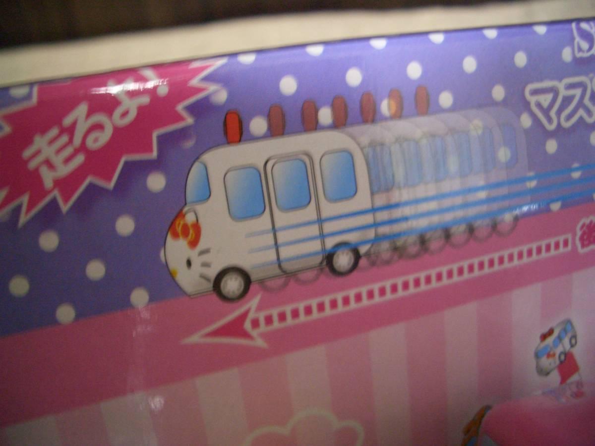 新品 店舗用サンリオ マスコットバス付きボールペン プルバックカーハローキティマイメロディぐでたまポムプムプリンシナモロール9本_画像2