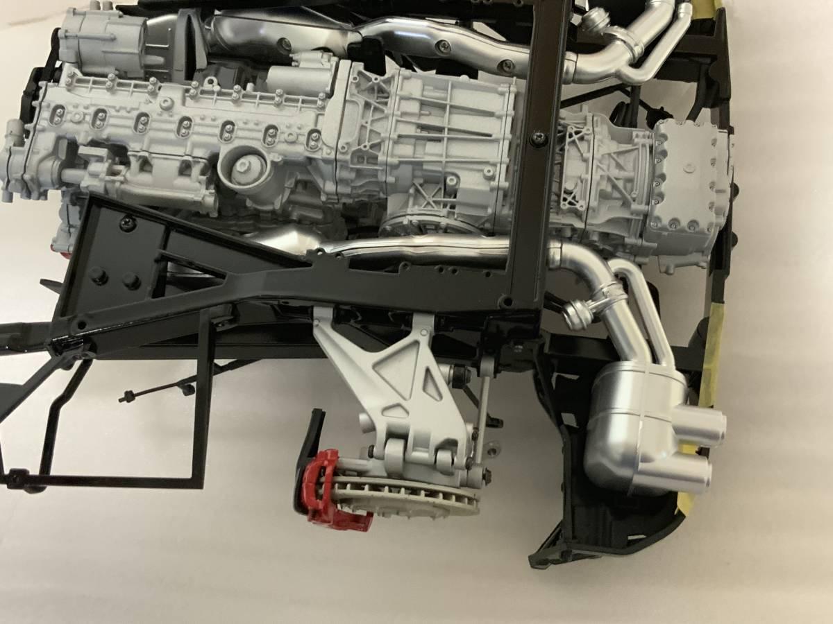 アシェット 週間 ラ フェラーリを作る 1~105号 製作中途品!_画像5
