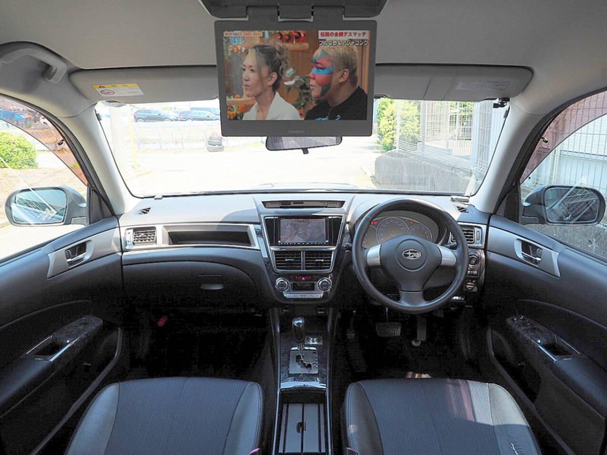 21年式 エクシーガ 2.0GT 4WD ターボ HDDナビ TV 後席FDモニター リアカメラ ETC HID SI-DRIVE プッシュスタート スマートキー 車検2年7月_画像3