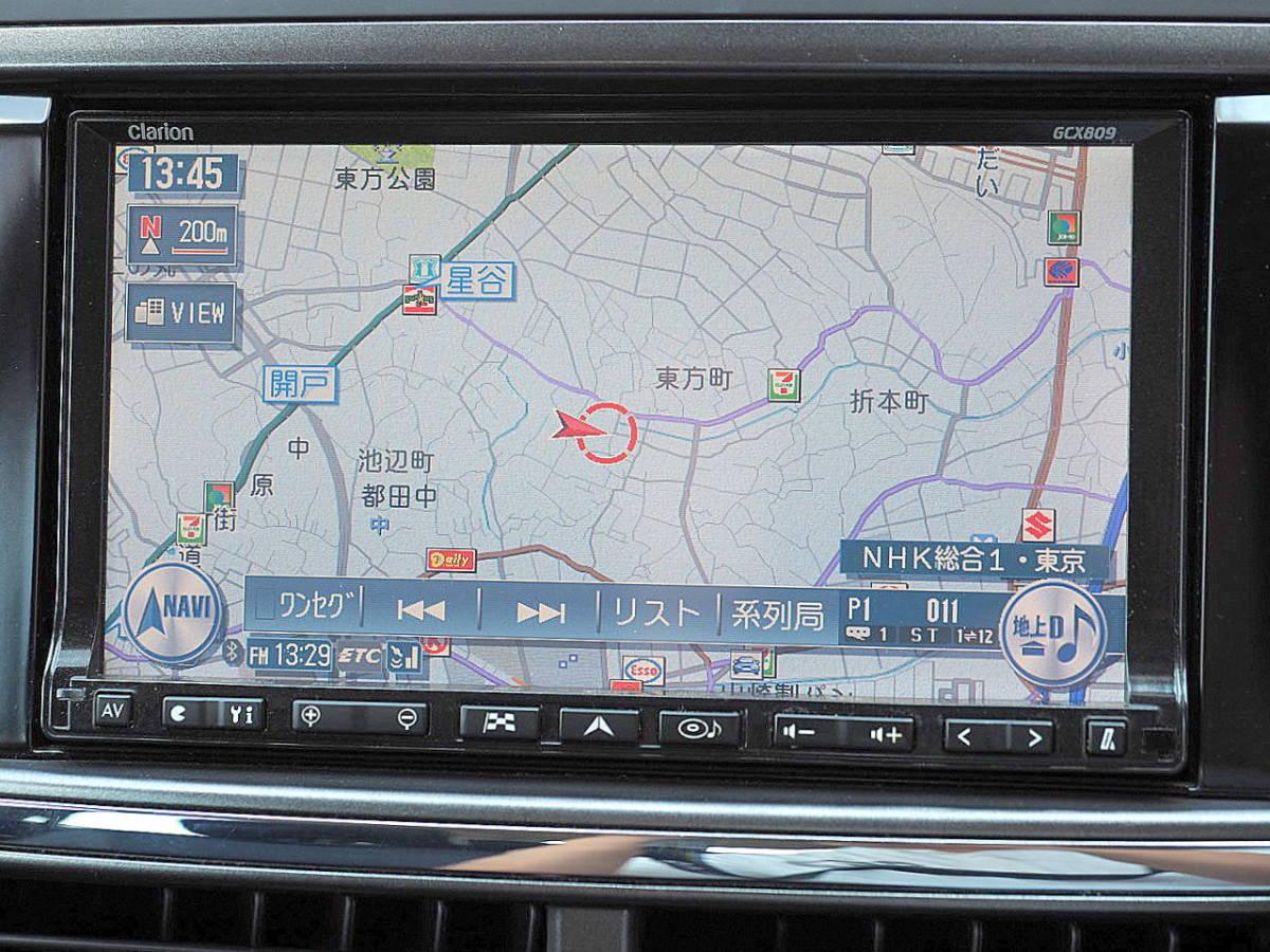 21年式 エクシーガ 2.0GT 4WD ターボ HDDナビ TV 後席FDモニター リアカメラ ETC HID SI-DRIVE プッシュスタート スマートキー 車検2年7月_画像4