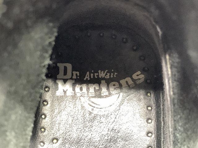 即決 Dr.Martens ドクターマーチン メンズ EU39 24.5cm相当 レースアップブーツ 本革 レザー 黒 バイク アウトドア_画像7