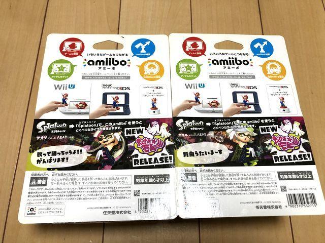 任天堂 アミーボ amiibo シオカラーズセット アオリ ホタル スプラトゥーン splatoon WiiU switch_画像4