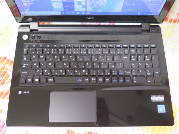 【2015年9月モデル★爆速新SSD480GB】NS150/C NEC ブラック 高速CPU(Broadwell)第5世代 最新Windows10★メモリ4GB HDMI Office2016_画像2