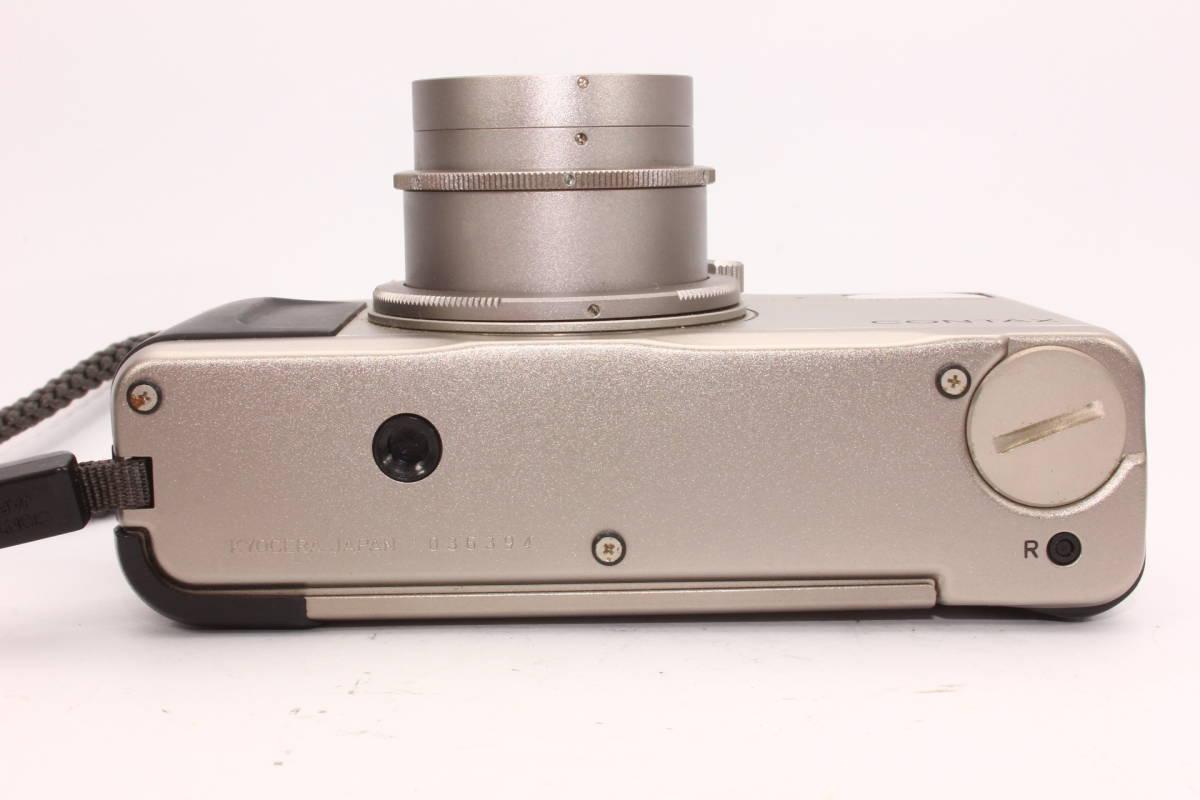 コンタックス TVS CONTAX ボディ Carl Zeiss Vario-Sonnar F3.5-6.5 28-56mm T* 箱、ケース付き [036394]_画像8