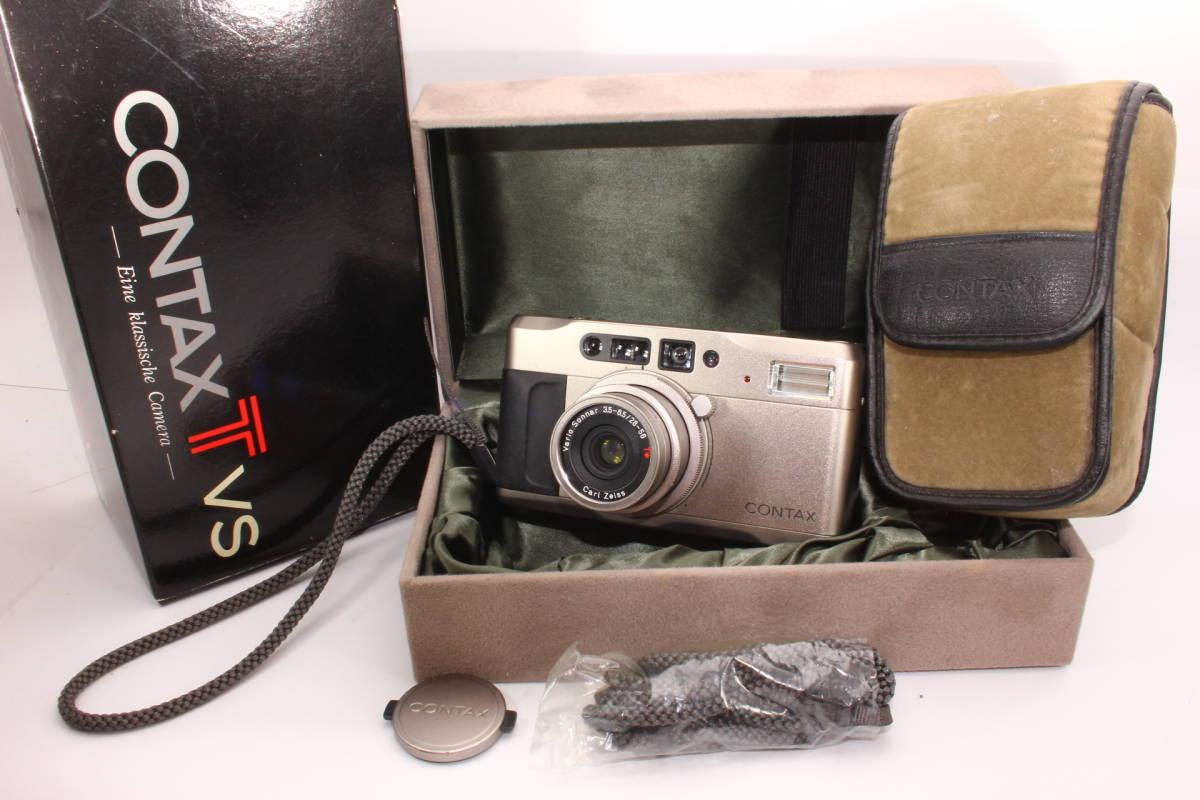 コンタックス TVS CONTAX ボディ Carl Zeiss Vario-Sonnar F3.5-6.5 28-56mm T* 箱、ケース付き [036394]