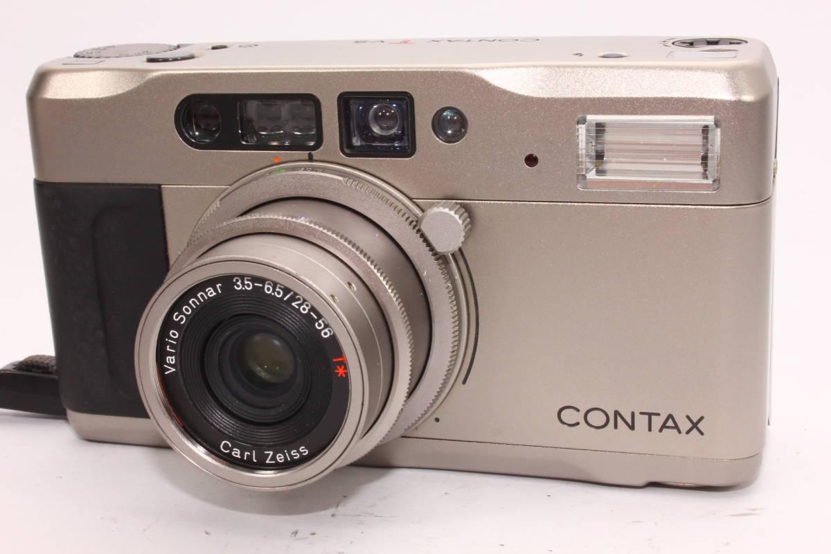 コンタックス TVS CONTAX ボディ Carl Zeiss Vario-Sonnar F3.5-6.5 28-56mm T* 箱、ケース付き [036394]_画像2
