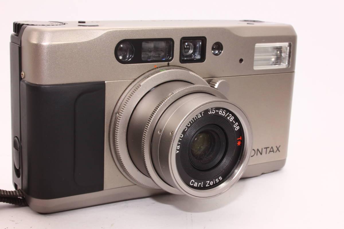 【人気品】コンタックス TVS CONTAX ボディ Carl Zeiss Vario-Sonnar F3.5-6.5 28-56mm T* [065047]_画像2