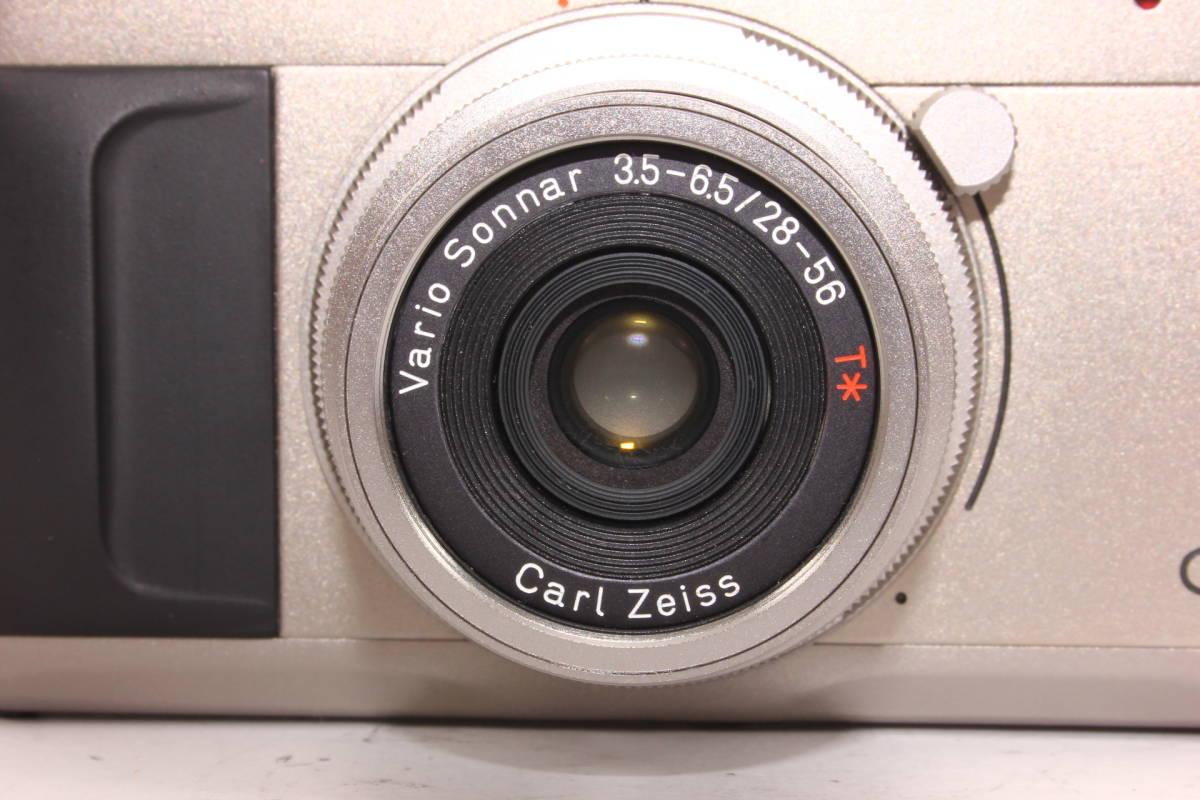 【人気品】コンタックス TVS CONTAX ボディ Carl Zeiss Vario-Sonnar F3.5-6.5 28-56mm T* [065047]_画像9