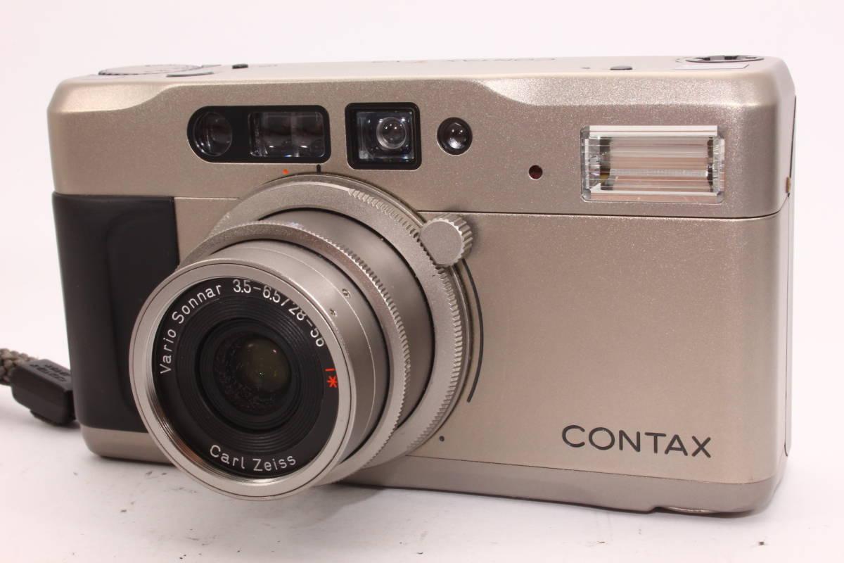 【人気品】コンタックス TVS CONTAX ボディ Carl Zeiss Vario-Sonnar F3.5-6.5 28-56mm T* [065047]