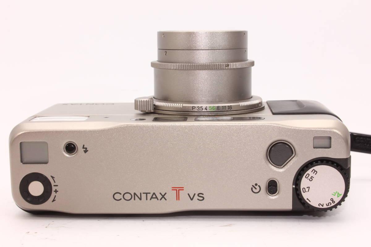 【人気品】コンタックス TVS CONTAX ボディ Carl Zeiss Vario-Sonnar F3.5-6.5 28-56mm T* [065047]_画像6