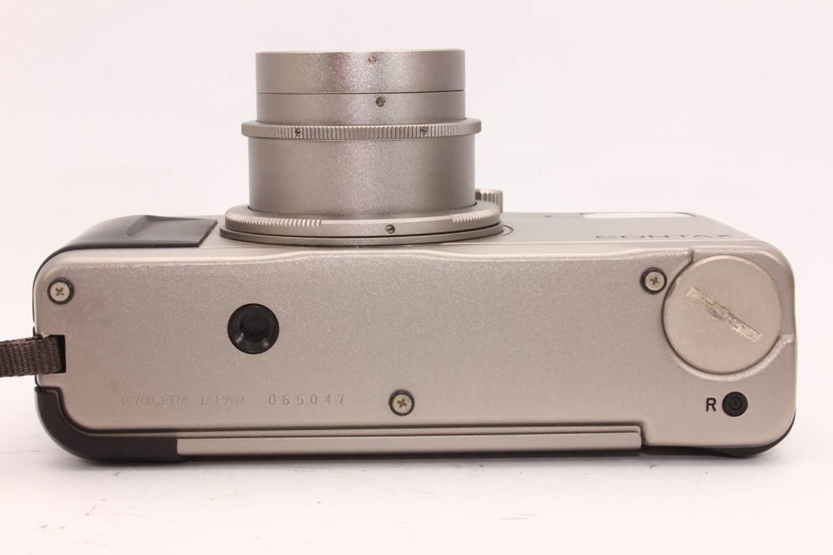【人気品】コンタックス TVS CONTAX ボディ Carl Zeiss Vario-Sonnar F3.5-6.5 28-56mm T* [065047]_画像7