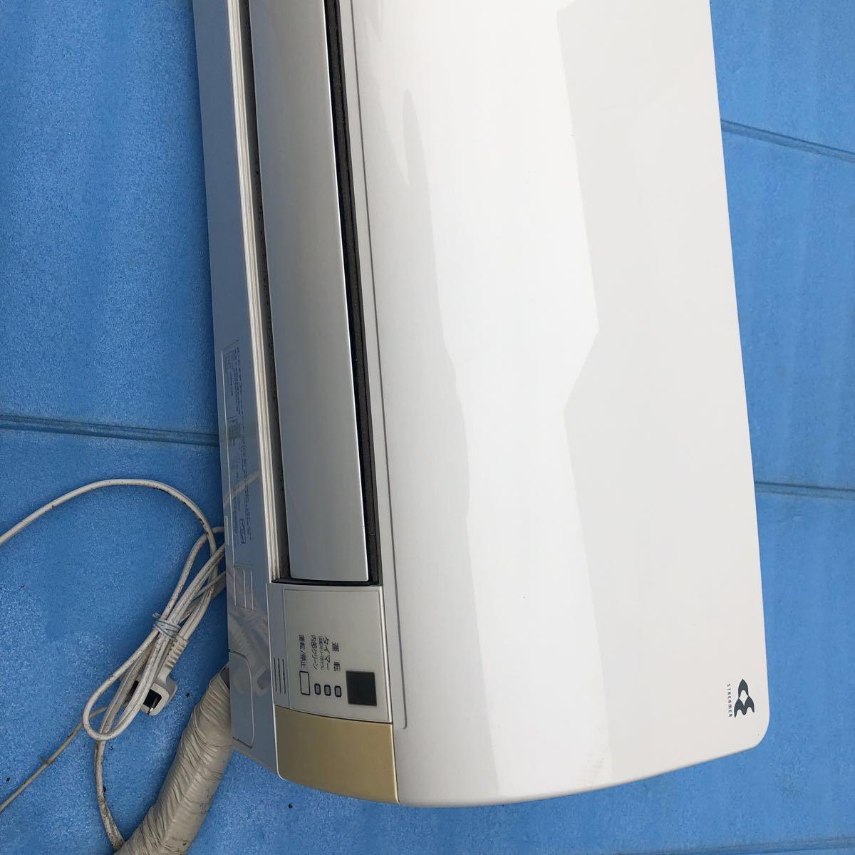 ダイキン DAIKIN 2014年製 光速ストリーマ搭載 ルームエアコン 3.6kW ~15畳 AN36RES 中古品 送料安 禁煙 ペット無し_画像5
