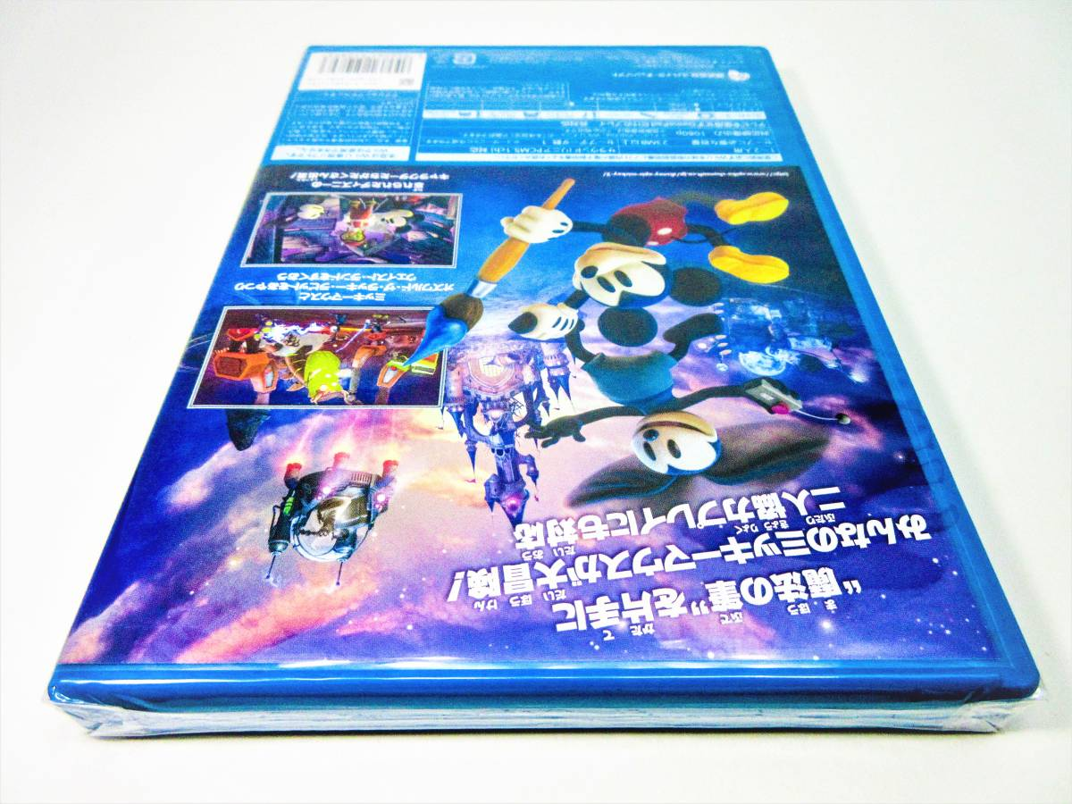 【新品未開封】【Wii U】ディズニー エピックミッキー2 二つの力 Disney EPIC MICKEY 2_画像8