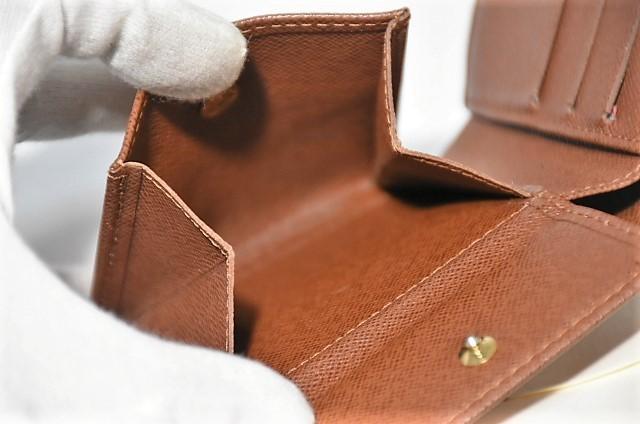 【確実正規品】超極美品!ヴィトン ポルトフォイユ・マルコ 小銭入れ付き二つ折り短財布_画像7
