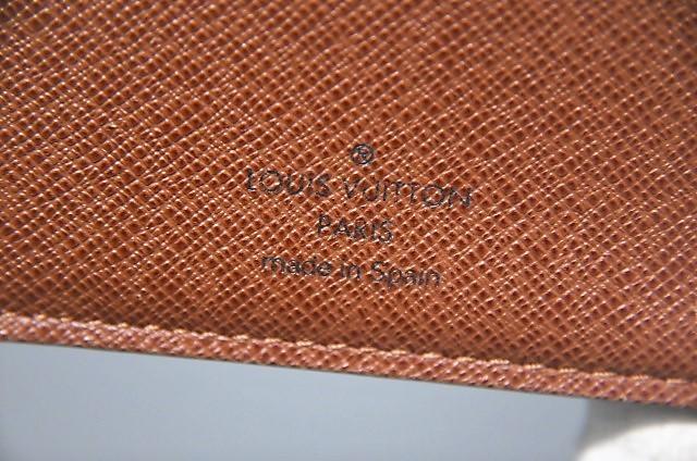 【確実正規品】超極美品!ヴィトン ポルトフォイユ・マルコ 小銭入れ付き二つ折り短財布_画像9