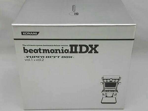 【ゲームソフト】CD; beatmania ⅡDX-SUPER BEST BOX-vol.1,2【ディスクキズ有】