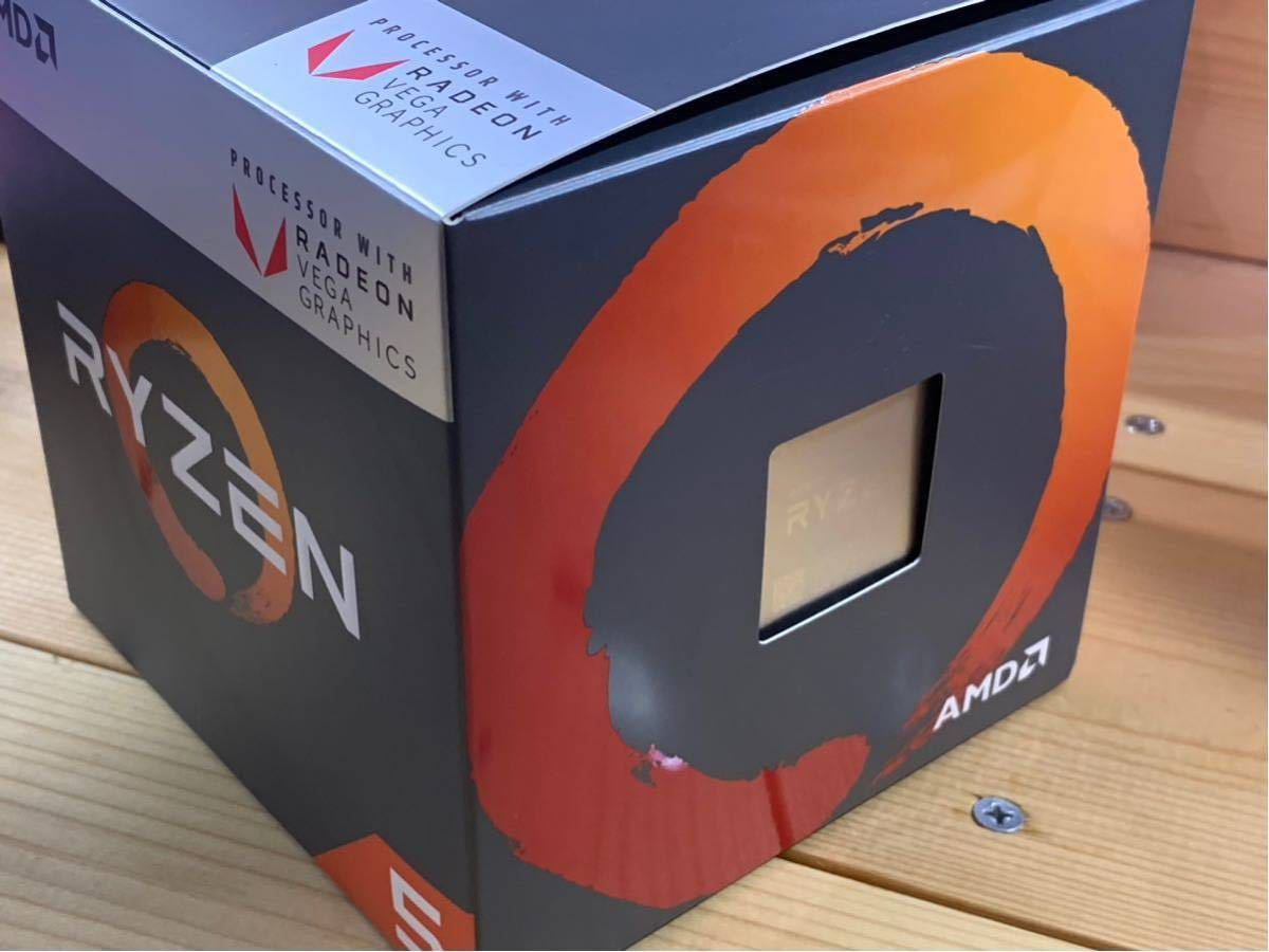 AMD Ryzen APU Ryzen 5 2400G with Radeon RX Vega Graphics