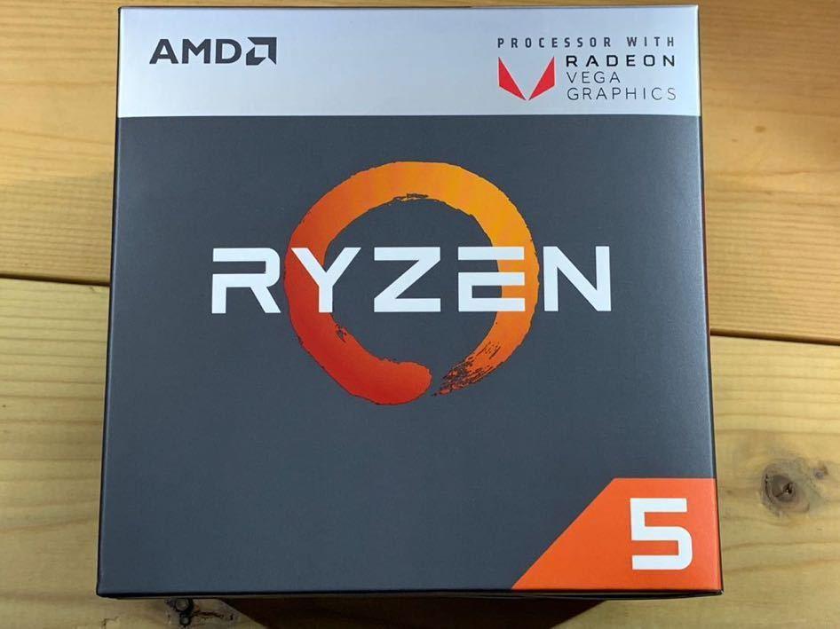 AMD Ryzen APU Ryzen 5 2400G with Radeon RX Vega Graphics_画像2
