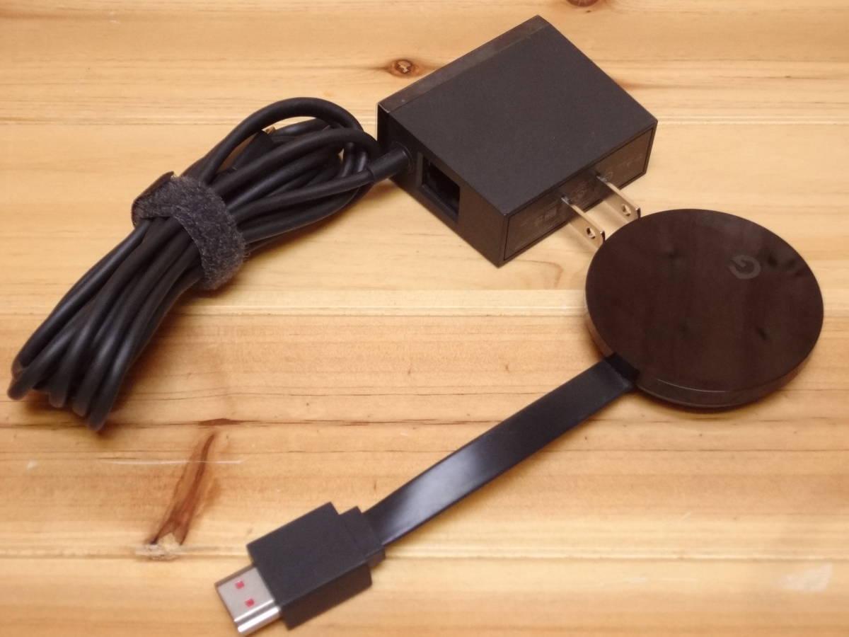 Google Chromecast Ultra クロームキャスト ウルトラ GA3A00416A16_画像2