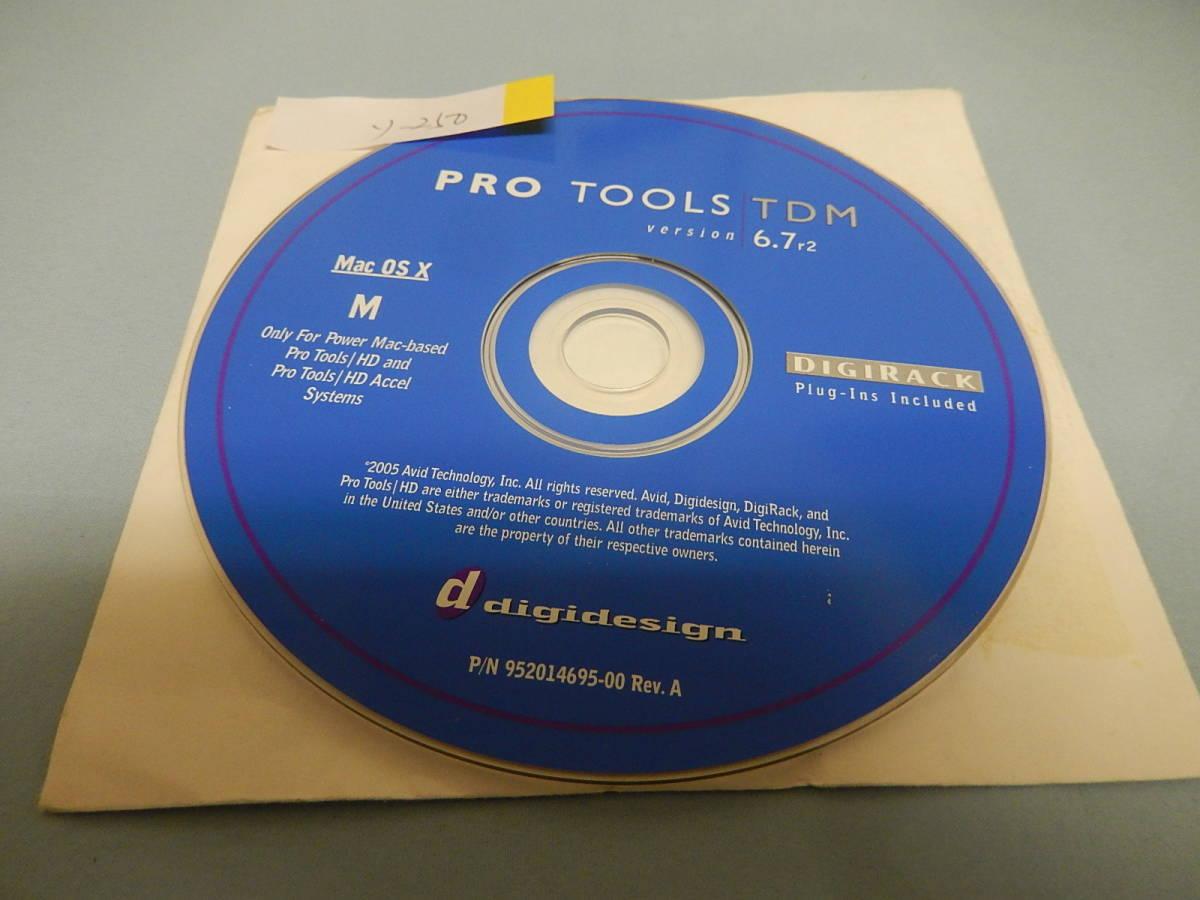 ProTools TDM 6.7r2 MAC 管ソ-250_画像1