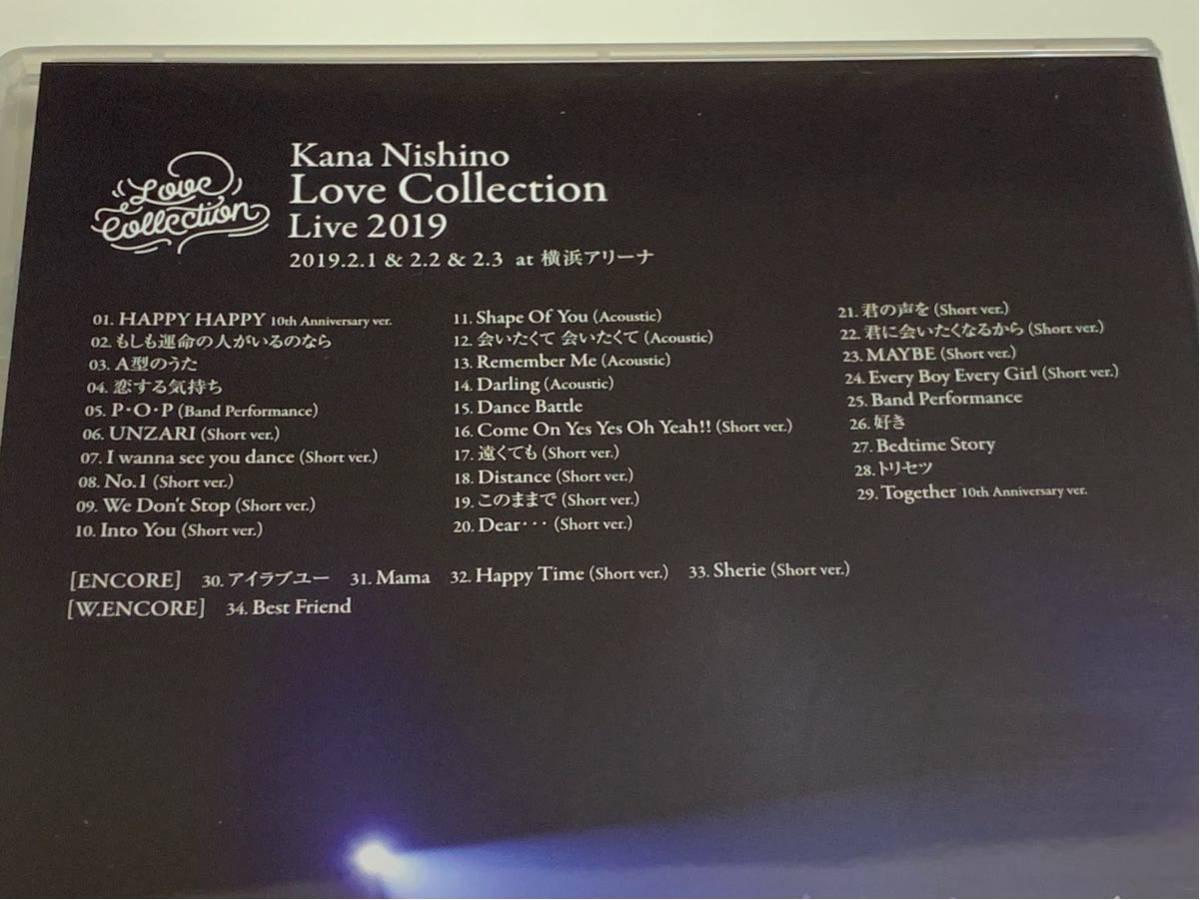 西野カナ Love Collection 2019 at 横浜アリーナ Blu-ray ブルーレイ_画像4