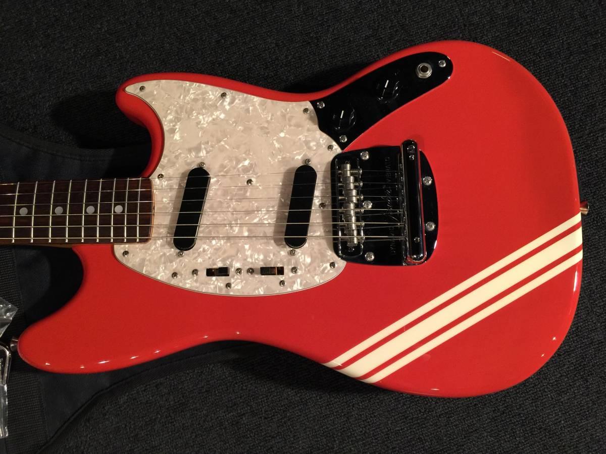 レア!生産完了 綺麗です! FenderJapan MG73 CO FRD No.070419 MADE IN JAPAN _画像2