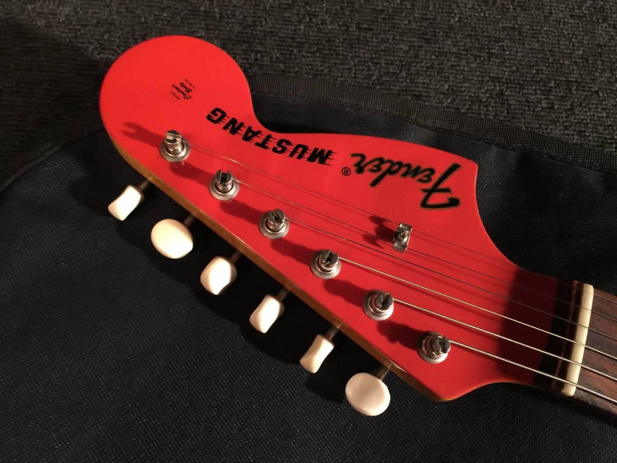 レア!生産完了 綺麗です! FenderJapan MG73 CO FRD No.070419 MADE IN JAPAN _画像3