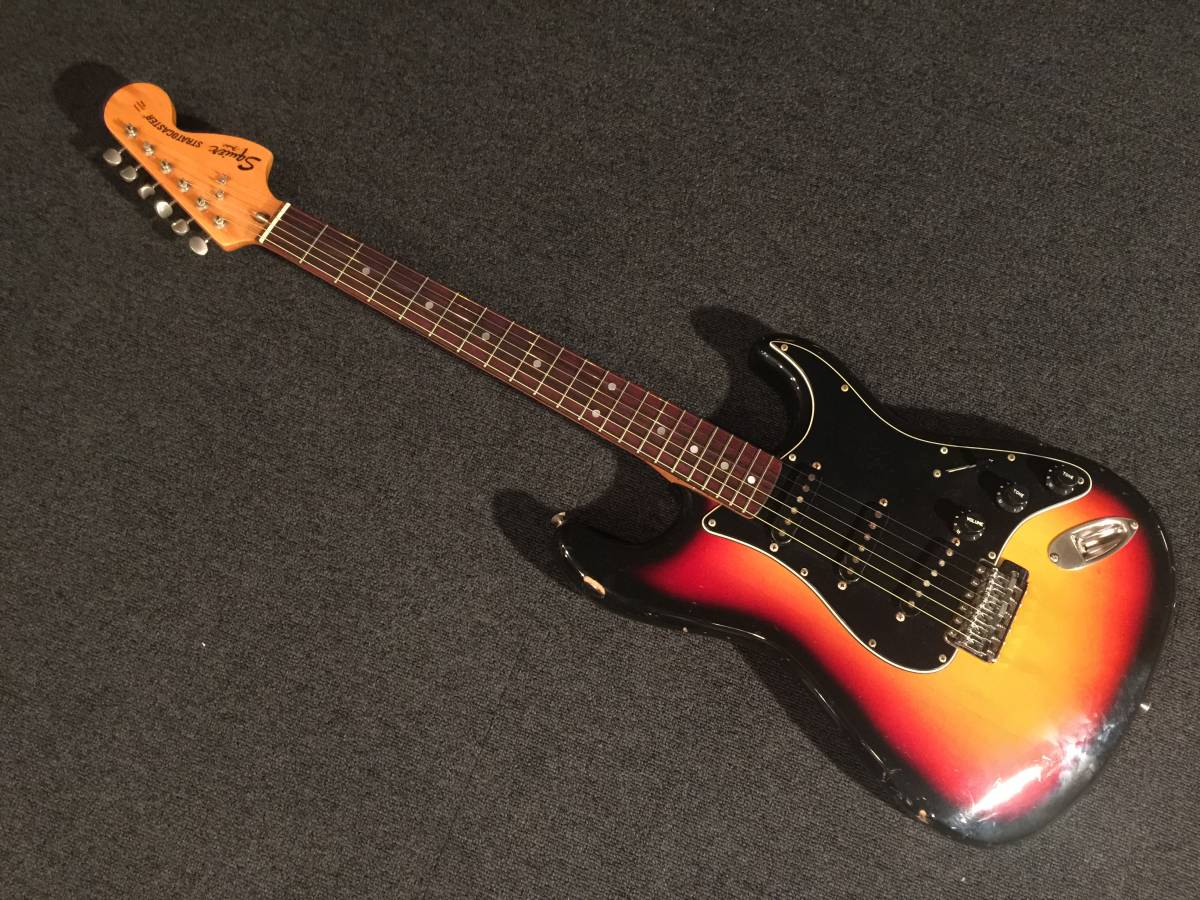 1985 FenderJapan Squier CST 3TS/R MADE IN JAPAN No.041219 SQシリアル_画像1