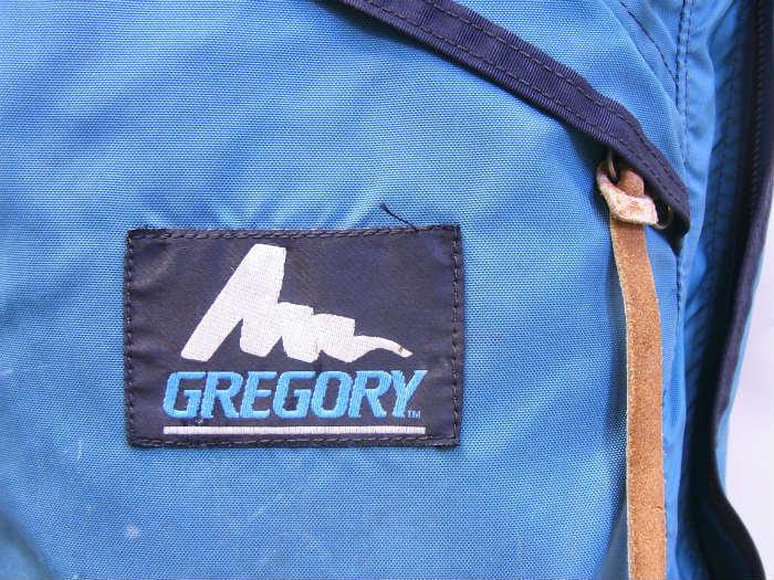 ●GREGORY グレゴリー USA製 青タグ グリーン デイパック バックパック_画像3