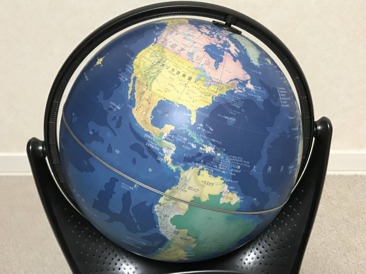 YY1907017uyDOSHISHA しゃべる地球儀 パーフェクトグローブ2 PERFECT GLOBE 2 動作確認済み_画像5