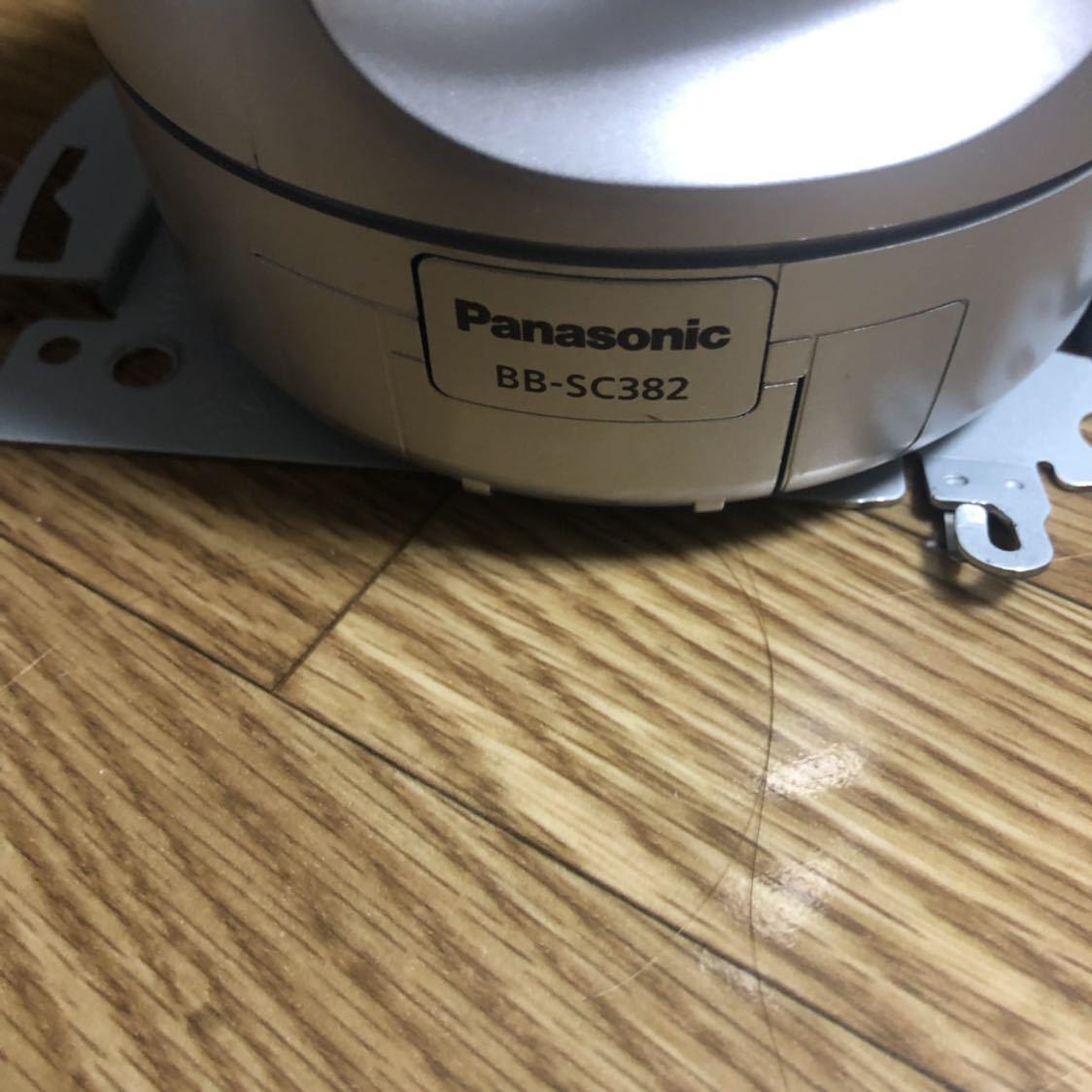 【中古品】Panasonic 屋内ネットワークカメラBB-SC382 HCM580 防犯カメラ 遠隔_画像4